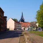 Bild: Eisleben - Blick auf die Kirche St. Nikolai.