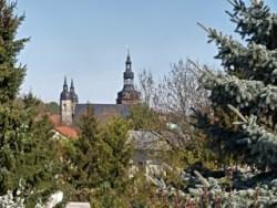 Bild: Die Kirche St. Andreas in Eisleben. Aufnahme aus dem Jahr 2009 von Birk Karsten Ecke.