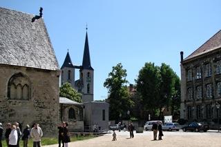 Bild: Die Domstadt Halberstadt. Hier wurde im Oktober 1934 der Fall Gustav Büker und die Brockenmorde vor dem Schwurgericht verhandelt. Bild © 2011 by Bert Ecke.