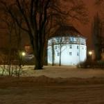 Bild: Winter 2010/2011 - Das Rondell in Aschersleben.