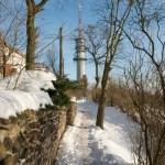 Bild: Winter 2010/2011 - Auf dem Petersberg bei Halle an der Saale.