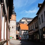Bild: Stolberg - Stadtturm und Schloss.