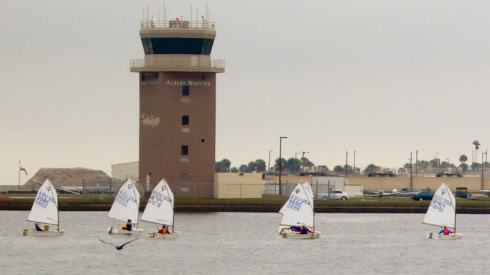 St. Petersburg Yacht Club sailing lessons.