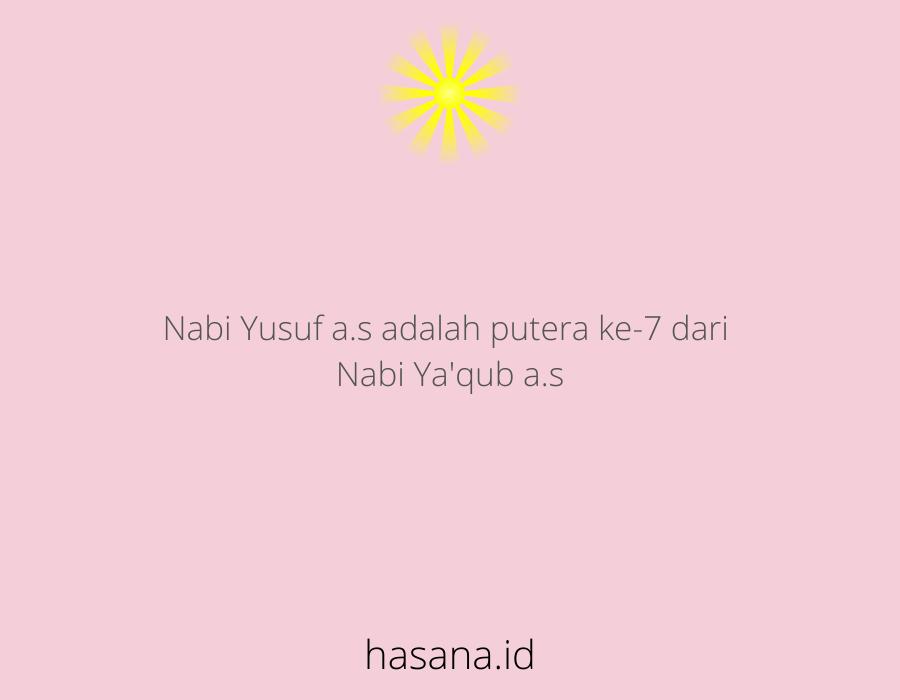 nabi yusuf adalah putra