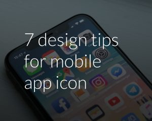 7 design tips for mobile app icon
