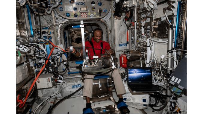 Uluslararası Uzay İstasyonunda Bir Hafta
