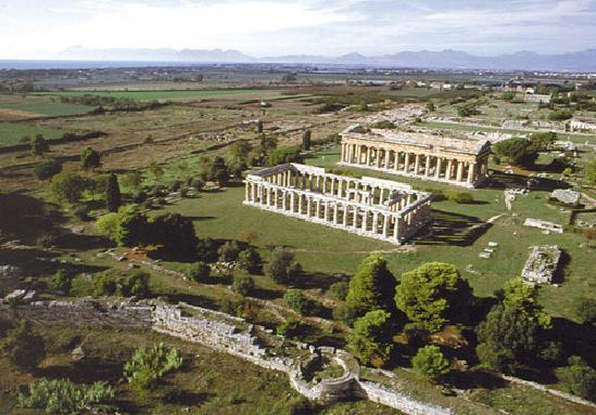 Paestum roman ruins - alternatives to great sights