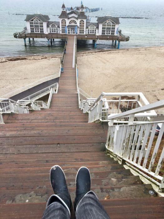 Aigle Goeland Gummistiefel Sellin Seebrücke