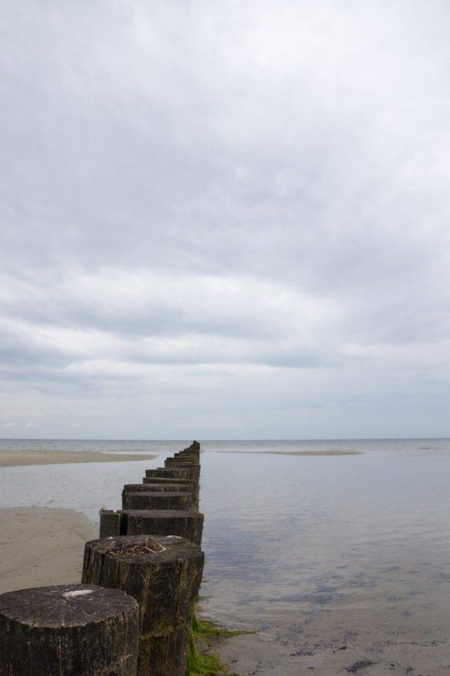 Poel Ostsee Wellenbrecher