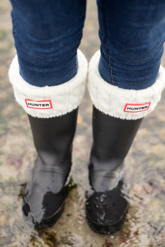 Gummistiefel Hunter Socken Winter 5