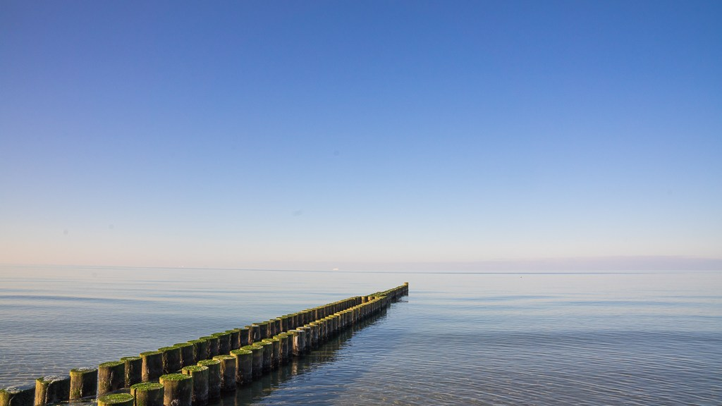 Ahrenshoop Ostsee Wellenbrecher
