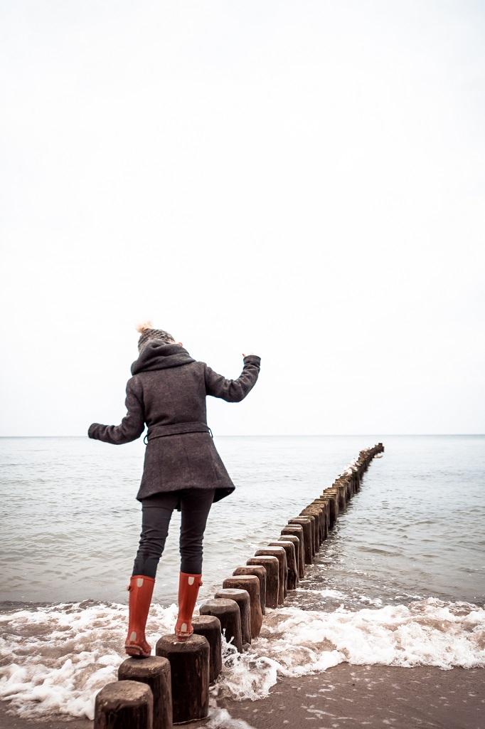 Gummistiefel Hunter Warnemünde Ostsee