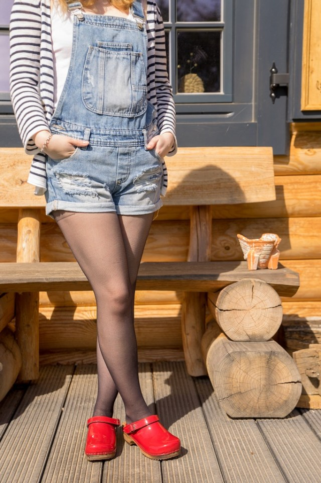 Holzclogs Clogs Sanita Frühling 1