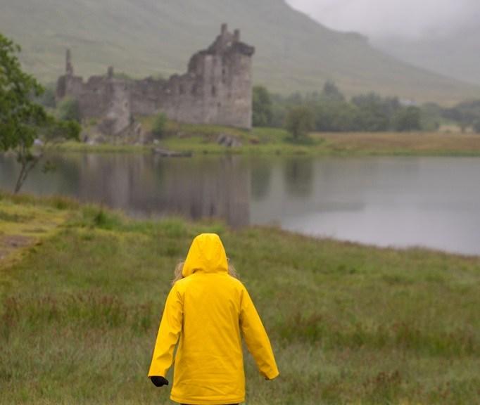 Hunter Gummistiefel Schottland Kilchurn Castle 5