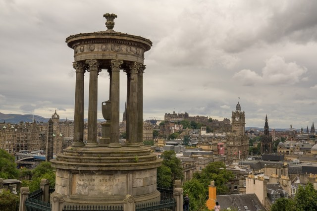 Schottland Edinburgh Calton Hill