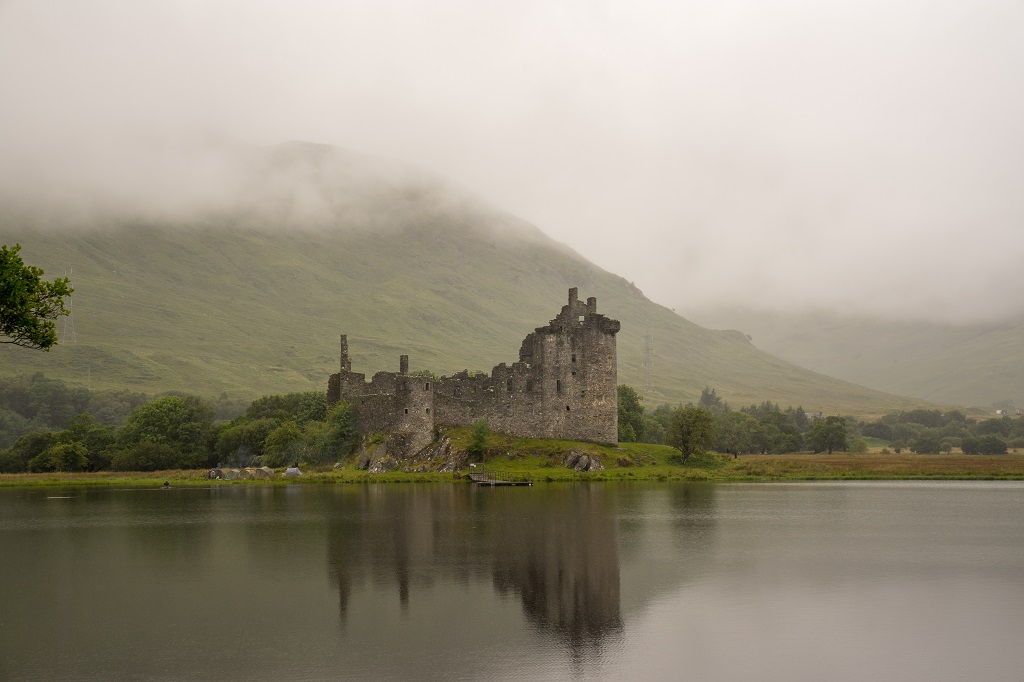Schottland Highlands Kilchurn Castle
