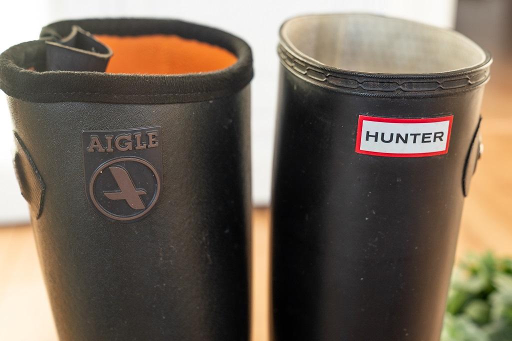 Aigle oder Hunter der Vergleich