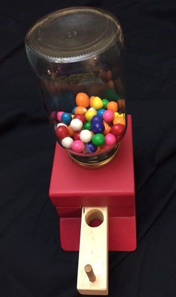 Candy Dispenser Red