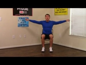 10 Minute Chair Workout for Seniors  Chair Exercise for