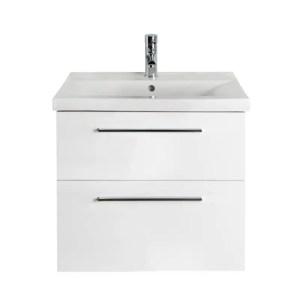 Biała Szafka z umywalką 50 cm