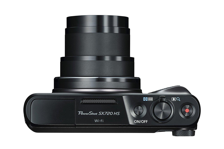 Canon SX720 HS Black Digital Camera