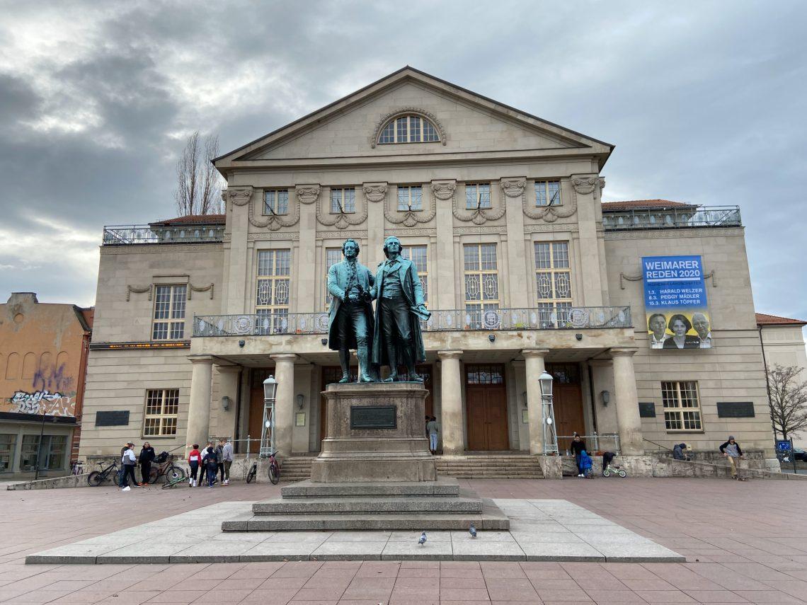 Weimar Schiller und Goethe