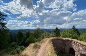 Vier-Burgen-Wanderung Elsaß - Hohenbourg