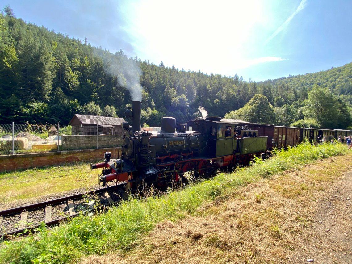 Mit dem Kuckucksbähnel von Neustadt nach Elmstein