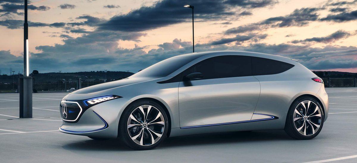 Mercedes predstavil nové plne elektrické vozidlo série EQA   Hashtag.sk