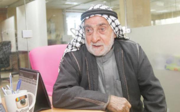 التسعيني محمد الشيخ سالم - (تصوير ساهر قدارة)