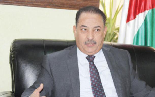 رئيس مجلس مفوضي هيئة تنظيم قطاع الاتصالات غازي الجبور - ( تصوير امجد الطويل)