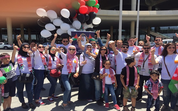 أورانج الأردن تحتفل بالذكرى 71 لإستقلال المملكة في كافة معارضها- صور