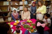 الملكة رانيا تطلع على برامج الجمعية الملكية للتوعية الصحية