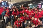 فريق الأرثوذكسي يعود من شتوتغارت الدولية للسباحة بـ 16 ميدالية