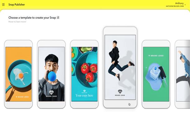 سناب شات تطلق أدوات إنشاء وإدارة الإعلانات يدوياً