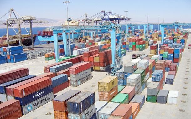 حاويات في ميناء الحاويات بالعقبة - (ارشيفية - الغد)