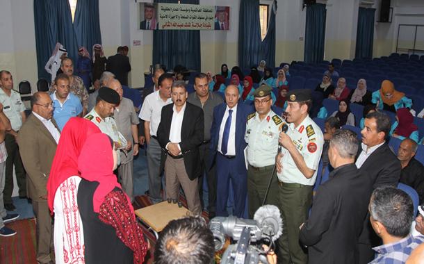 الوطنية للتشغيل والتدريب تفتتح معهد تدريب مهني في محافظة الطفيلة