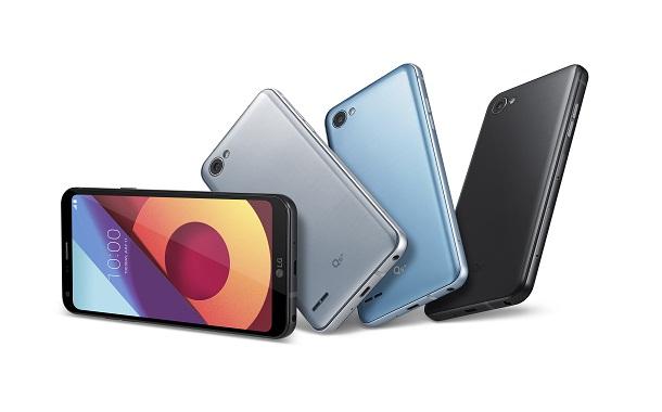 إل جي إلكترونيكس تكشف عن أولى هواتفها من سلسلة Q