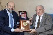 الرزاز يكرم عالم الرياضيات الأردني ميخائيل حتر