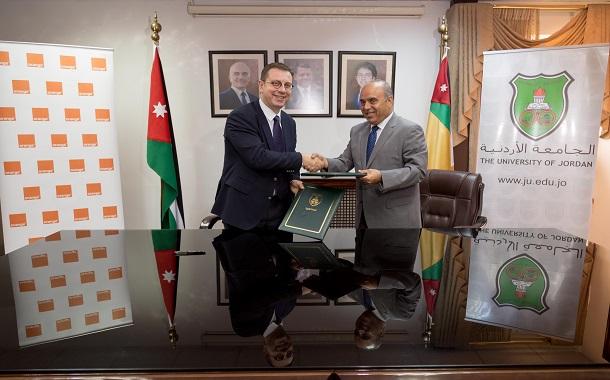 أورانج الأردن تجدد شراكتها مع الجامعة الأردنية لتلبية احتياجات كوادرها وطلابها