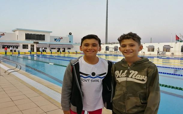 راشد عباسي ونزار الصوفي يحطمان رقمين قياسيين ....بطولة الأردن الصيفية المفتوحة الثانية للسباحة
