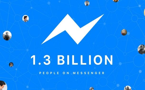 فيسبوك ماسنجر تصل إلى 1.3 مليار مستخدم نشط شهرياً
