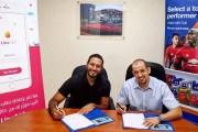 إتفاقية شراكة استراتيجية بين تطبيق LinaGAS وشركة هيدرون للطاقة (Gulf)