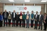 تسليم الجوائز للفائزين في جائزة الاميرة بسمة للعمل التنموي وخدمة المجتمع