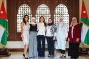 الملكة رانيا تلتقي سيدات أردنيات رياديات