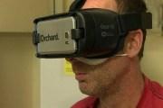 استخدام الواقع الافتراضي أثناء علاج التليف الكيسي