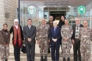 أبوغزاله يحاضر في كلية الدفاع الوطني الملكية الأردنية