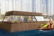دبي تطلق أول مطبخ عائم في العالم