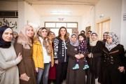 الملكة رانيا تلتقي المعلمات المستفيدات من برنامجي شبكات المدارس والقيادة التعليمية