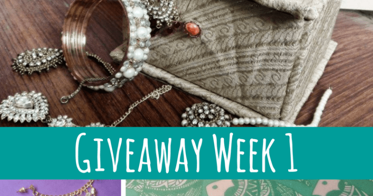December Giveaway 2016: Week 1